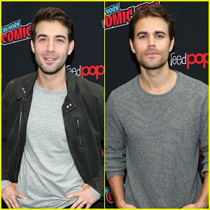 James Wolk & Paul Wesley Debut 'Tell Me A Story' Trailer at Comic Con!