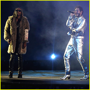 Post Malone & Ty Dolla Sign Perform 'Psycho' at American Music Awards 2018 - Watch Now!