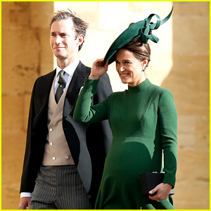 Pippa Middleton, Who Is 9 Months Pregnant, Looks Gorgeous at Princess Eugenie's Wedding!