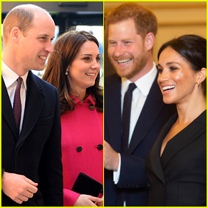 Prince William & Duchess Kate Middleton Are 'Delighted' for Prince Harry & Duchess Meghan Markle's Baby News