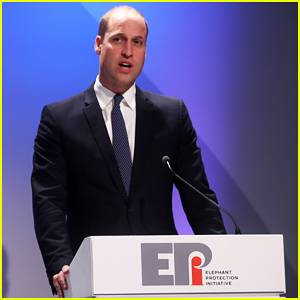 Prince William Gives Emotional Speech at Illegal Wildlife Trade Conference!