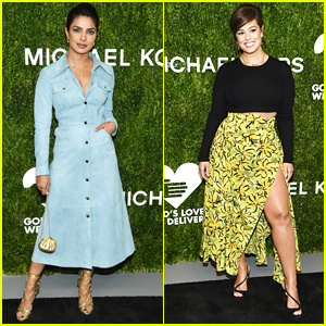 Priyanka Chopra & Ashley Graham Go Glam for God's Love We Deliver Golden Heart Awards!
