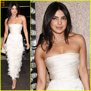 Priyanka Chopra Celebrates Bridal Shower at Tiffany & Co. Blue Box Cafe!