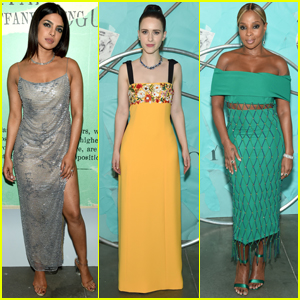 fd3a21887186 Priyanka Chopra Joins Rachel Brosnahan   Mary J. Blige at Tiffany   Co. s  Blue Book Gala!