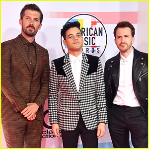 Rami Malek & 'Bohemian Rhapsody' Co-Stars Bring Their Style A-Game to AMAs 2018!