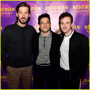 Rami Malek Screens 'Bohemian Rhapsody' for Boston Audience