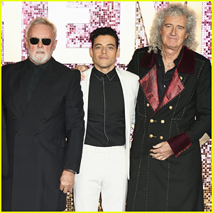 Rami Malek Gets Support from Queen's Roger Taylor & Brian May at 'Bohemian Rhapsody' World Premiere!