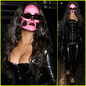 Rihanna Is a Sexy, Spooky Skull Diva for Halloween!
