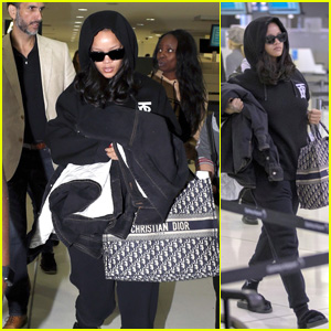 Rihanna Jets Out of Australia After Celebrating One Year of Fenty Beauty!