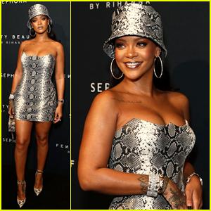Rihanna Celebrates Fenty Beauty One Year Anniversary in Australia!