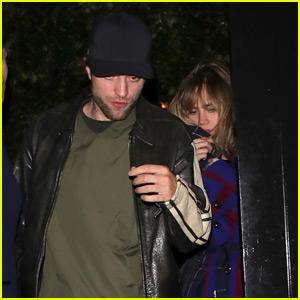 Robert Pattinson & Suki Waterhouse Spotted On a Date Night in London!