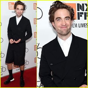 Robert Pattinson Wears Shorts to 'High Life' Screening in NYC!