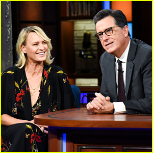 Robin Wright Wanted Stephen Colbert on 'House of Cards'