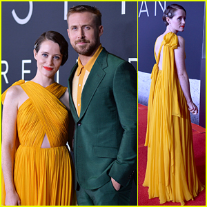 Ryan Gosling & Claire Foy Attend 'First Man' D.C. Premiere at National Air & Space Museum!