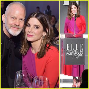 Sandra Bullock Talks Her 'Crappy Few Weeks' at 'Elle' Women in Hollywood Celebration!