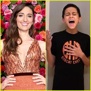 Sara Bareilles Reacts to Viral Video of Boy Singing 'Waitress' Song!
