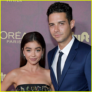 Sarah Hyland Jokes She's Pregnant, Wells Adams Issues Funny Response
