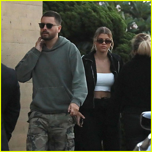 Scott Disick & Sofia Richie Head Out for a Date at Nobu!