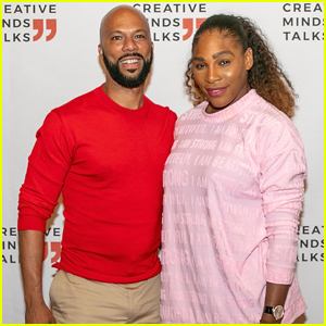Serena Williams Teams Up with Common for Creative Minds Talk!