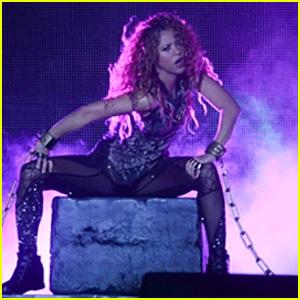 Shakira Hits the Stage in Sao Paulo on the 'El Dorado World Tour'!
