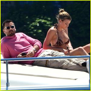 Sofia Richie & Scott Disick Soak Up the Sun on a Yacht in Sydney!