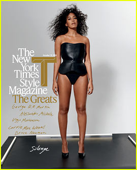 Solange Knowles Is One of T Magazine's 2018 Greats!