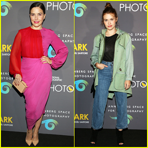 Sophia Bush & Holland Roden Support National Geographic Photo Ark Exhibit!