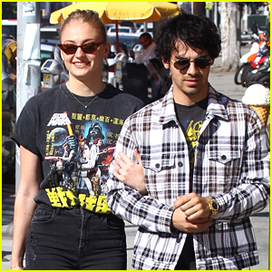 Sophie Turner Holds on Close to Joe Jonas During Afternoon Outing!
