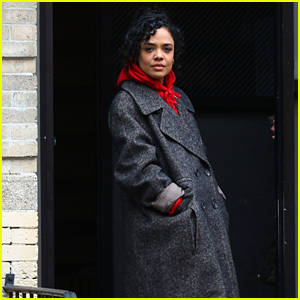 Tessa Thompson Continues Filming 'Men in Black' After Co-Star Chris Hemsworth Wraps