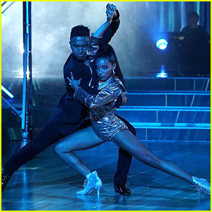 Tinashe Tops the Score Chart Again During 'DWTS' Week 2 - Watch Now!