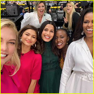 Michelle Obama, Kelly Clarkson, Meghan Trainor & More Celebrate International Day of the Girl on 'Today'!