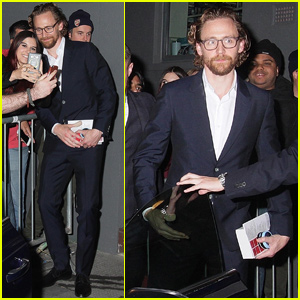 Tom Hiddleston Celebrates Harold Pinter Theater Anniversary!