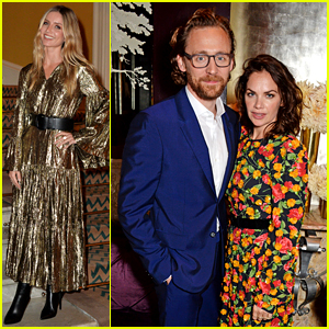 Tom Hiddleston & Ruth Wilson Support Michael Kors' New Collaboration with Artist David Downton