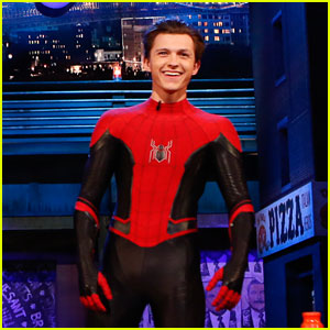 Tom Holland Wraps 'Spider-Man: Far From Home' Filming, Debuts New Suit