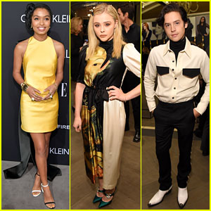 Yara Shahidi, Chloe Moretz, & Cole Sprouse Team Up for Elle's Women in Hollywood Celebration 2018