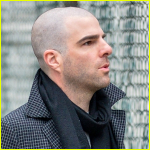 Zachary Quinto Shaves His Head - See the Photos!