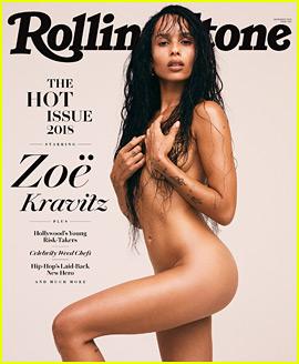 Zoe Kravitz Strips Down to Recreate Mom Lisa Bonet's 'Rolling Stone' Photo Shoot!