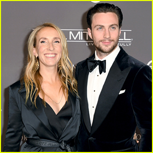 Aaron Taylor-Johnson & Wife Sam Couple Up for Baby2Baby Gala