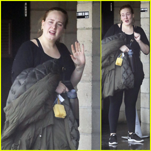 Adele Heads Out After a Morning Workout in West Hollywood