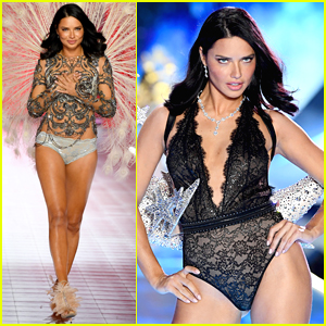 Adriana Lima Hits the Runway for Her Final Victoria's Secret Fashion Show!