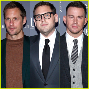 Alexander Skarsgard Joins Jonah Hill & Channing Tatum at WSJ. Magazine Innovator Awards 2018