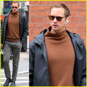 Alexander Skarsgard Says He Wants to Marry a British Woman