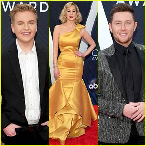 Caleb Lee Hutchinson Joins 'American Idol' Alums at CMA Awards 2018!