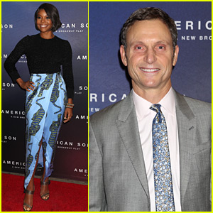 Gabrielle Union & Tony Goldwyn Attend 'American Son' Opening Night on Broadway