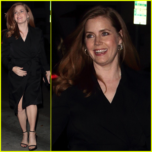 Amy Adams Looks Radiant During Her Night Out!