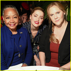 Amy Schumer & Amber Heard Help Honor Lisa Borders at Conversations for Change Dinner!