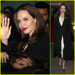 Angelina Jolie Supports Survivors of Sexual Violence Through Film Festival in London