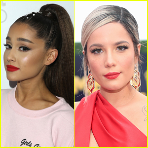 Ariana Grande Posts Text Exchange with Halsey