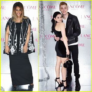 Ariel Winter & Levi Meaden Join Laverne Cox at Lancome & Vogue's Holiday Event