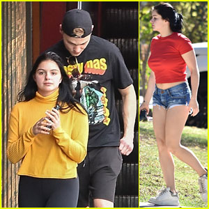 Ariel Winter Gasses Up In Her Daisy Dukes